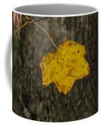 Single Poplar Leaf Coffee Mug