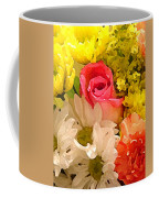 Single Rose Bouquet Coffee Mug
