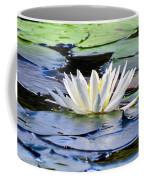 Single White Lotus Coffee Mug
