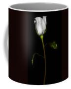 Single White Rose Coffee Mug