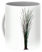 Single Winter Tree Painting Isolated Coffee Mug