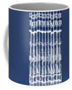 Singles In Negative Blue Coffee Mug