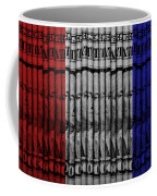 Singles In Red White And Blue Coffee Mug