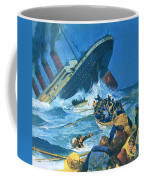 Sinking Of The Titanic Coffee Mug