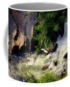 Sinks Waterfall Coffee Mug by Karen Wiles