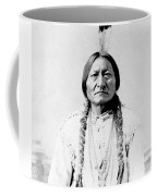 Sioux Chief Sitting Bull Coffee Mug by War Is Hell Store