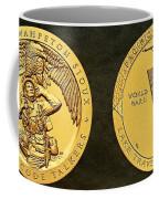 Sisseton Wahpeton Oyate Sioux Tribe Code Talkers Bronze Medal Art Coffee Mug