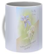 Sister Birthday Greeting Card - Borage - Borage Officinalis Coffee Mug