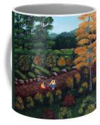 Sister's Autumn Stroll Coffee Mug