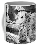 Sisters Black And White Coffee Mug