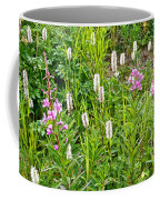 Sitka Burnet And Tall Fireweed In Katmai National Preserve-ak Coffee Mug