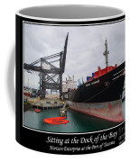 Sitting At The Dock Of The Bay Coffee Mug