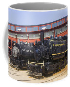 Sitting At The Roundhouse Coffee Mug
