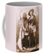 Sitting Bull And Buffalo Bill Coffee Mug