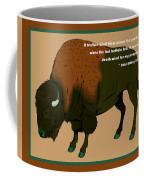 Sitting Bull Buffalo Coffee Mug
