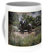 Sitting By The Elephants Coffee Mug