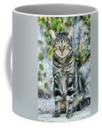 Sitting Cat Coffee Mug