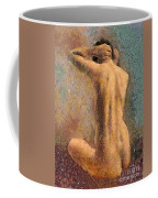Sitting Nude 3 Coffee Mug