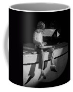 Sitting On The Front Of The Stage 1977 Coffee Mug