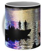 Six On A Boat Coffee Mug