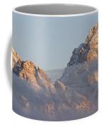 Six Peaks Of The Teton Mountain Range Coffee Mug