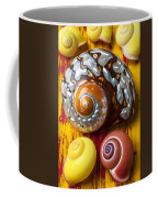 Six Snails Shells Coffee Mug