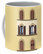 Six Windows Of Florence Coffee Mug