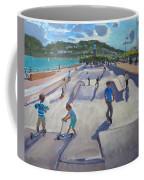 Skateboaders  Teignmouth Coffee Mug
