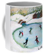 Skating Pond Coffee Mug