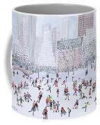Skating Rink Central Park New York Coffee Mug