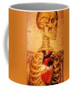 Skeleton And Heart Model Coffee Mug