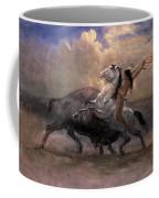 Sketch For The Last Of The Buffalo Coffee Mug