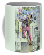 Sketch For The Passions Love Coffee Mug by Richard Dadd