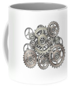 Sketch Of Machinery Coffee Mug