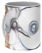 Sketch Of The Hard Disc Coffee Mug
