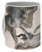 Sketches Of A Kitten Coffee Mug
