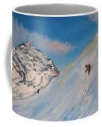 Ski Alaska Heli Ski Coffee Mug