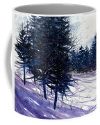 Ski Hill Coffee Mug