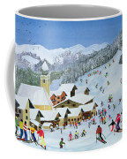 Ski Whizzz Coffee Mug by Judy Joel