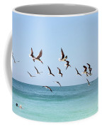 Skimmers And Swimmers Coffee Mug by Carol Groenen