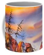 Skinny Trees Windy Day Coffee Mug