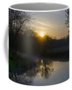 Skippack Creek Sunrise Coffee Mug