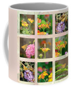 Skipper Butterfly Collage Coffee Mug