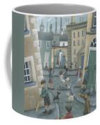 Skipping By The Green Door Coffee Mug