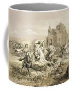 Skirmish Of Persians And Kurds Coffee Mug