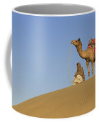 Skn 0960 Having A Distant View Coffee Mug