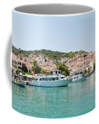 Skopelos Harbour Greece Coffee Mug