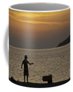 Skopelos Sunset - Fisher Boy - 1 Coffee Mug