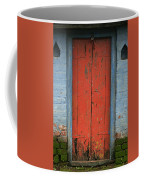 Skc 0401 Closed Red Door Coffee Mug