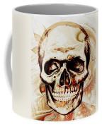 Skull Coffee Mug by Anastasiya Malakhova